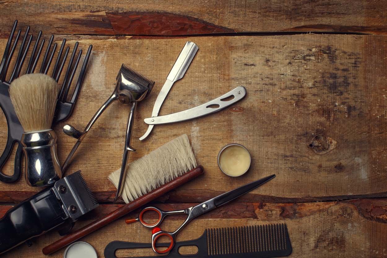 Prestations homme : coupe et barbier
